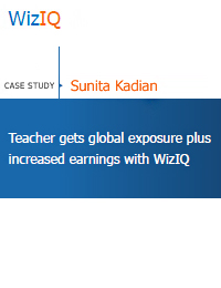 global exposure with wiziq