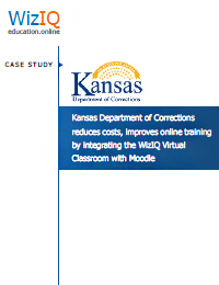 Kansas Department Of Corrections Chooses Wiziq To Train Over